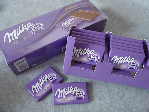 Milk Chocolate Minis